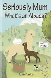 WHAT'S AN ALPACA LARGE PRINT