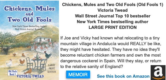 Large Print Chickens, Mules and Two Old Fools
